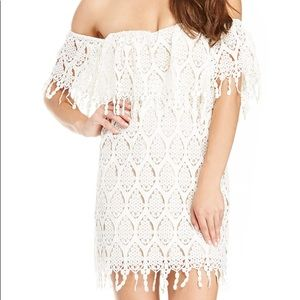 Stone cold fox off the shoulder dress
